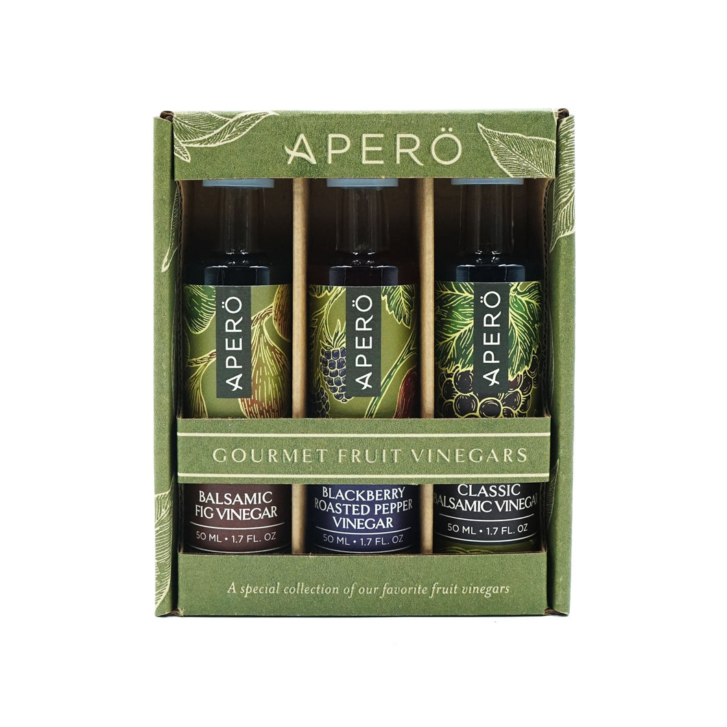 Apero Fruit Vinegar 3-Piece Collection