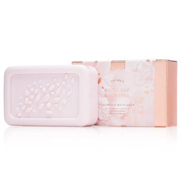 The Thymes Goldleaf Gardenia Bar Soap