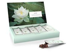 Load image into Gallery viewer, Lotus Tea Tasting Assortment