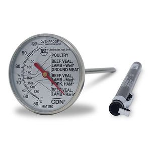 Ovenproof Dial Meat Thermometer