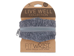 "FitWrist Wallet ""Live Well"""