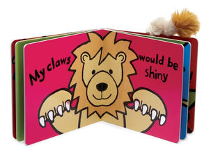 "Jellycat ""If I Were A Lion"" Book"