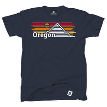 Load image into Gallery viewer, Oregon Horizons Navy Tee Shirt