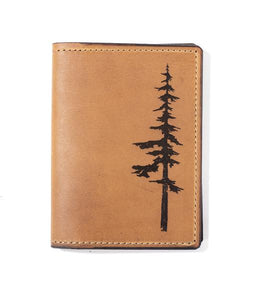 Leather Park Passport Wallet by Tactile Craftworks