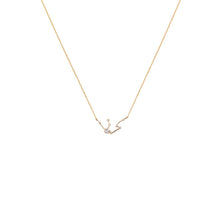 Load image into Gallery viewer, Zodiac Necklace 14 kt Gold