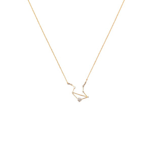 Zodiac Necklace 14 kt Gold