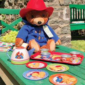 Paddington Bear Tin Tea Set