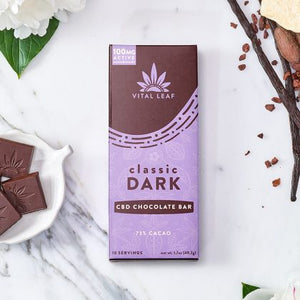 CBD Vital Leaf Chocolates