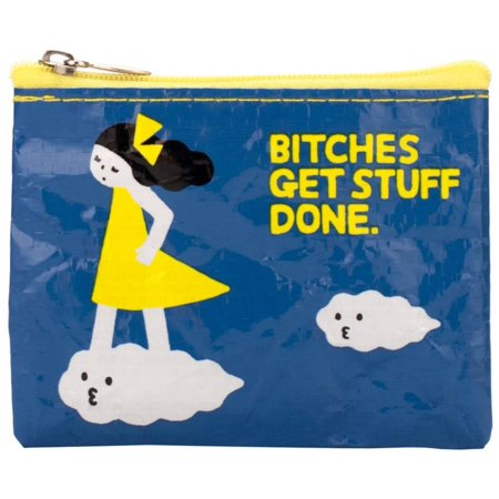 Blue Q B*tches Get Stuff Done Coin Purse