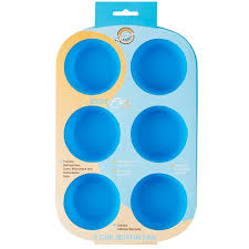 6-Cup Silicone Muffin Pan