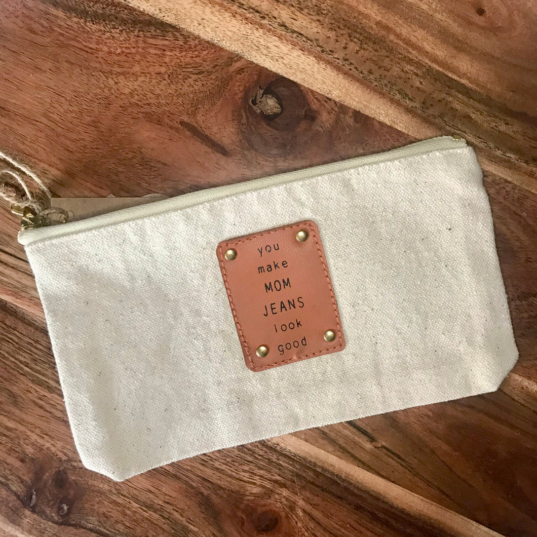 Mom Canvas Pouch
