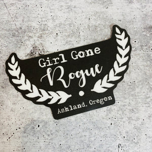 Girl Gone Rogue Sticker