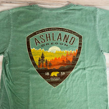 Load image into Gallery viewer, Siskiyou National Forest Ashland, Oregon Tee Shirt, Green