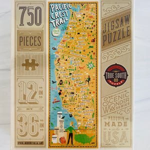 True South Pacific Crest Trail Puzzle