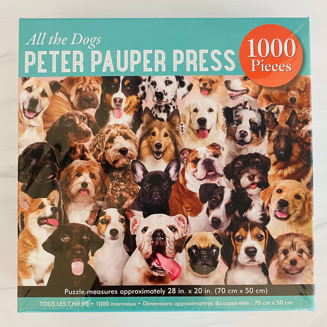 All the Dogs Jigsaw Puzzle
