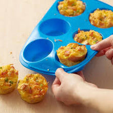 Load image into Gallery viewer, 6-Cup Silicone Muffin Pan