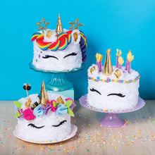 Load image into Gallery viewer, Sew Your Own Unicorn Cake Pillow