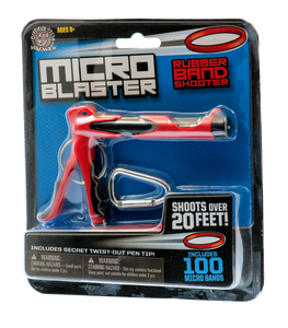 MicroBlaster Rubber Band Shooter