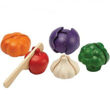 Load image into Gallery viewer, PlanToys 5 Color Veggie Set