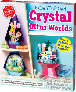 Grow Your Own Crystal Kits: Mini Worlds, Unicorns