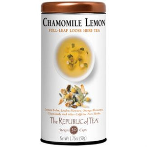 Chamomile Lemon Loose Leaf Tea
