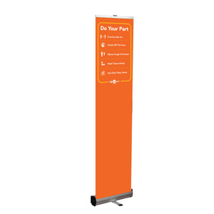 Do Your Part Retractable Banner