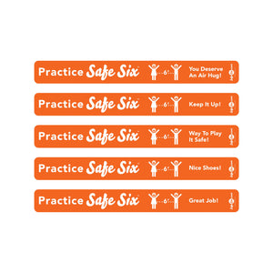 Safe Six Floor Strips (Set of 5)