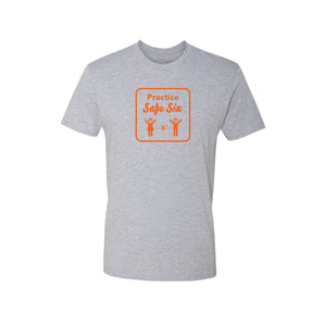 Safe Six Men's T-Shirt- Grey
