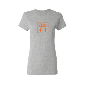 Safe Six Women's T-Shirt- Grey