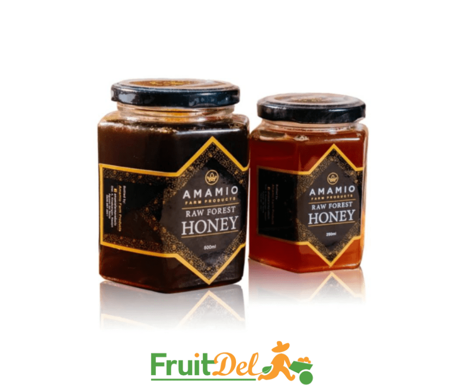 Honey (Amamio) - Raw & Dark