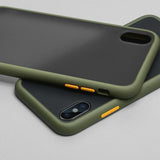 Luxury Protection Armor Matte Case For Huawei