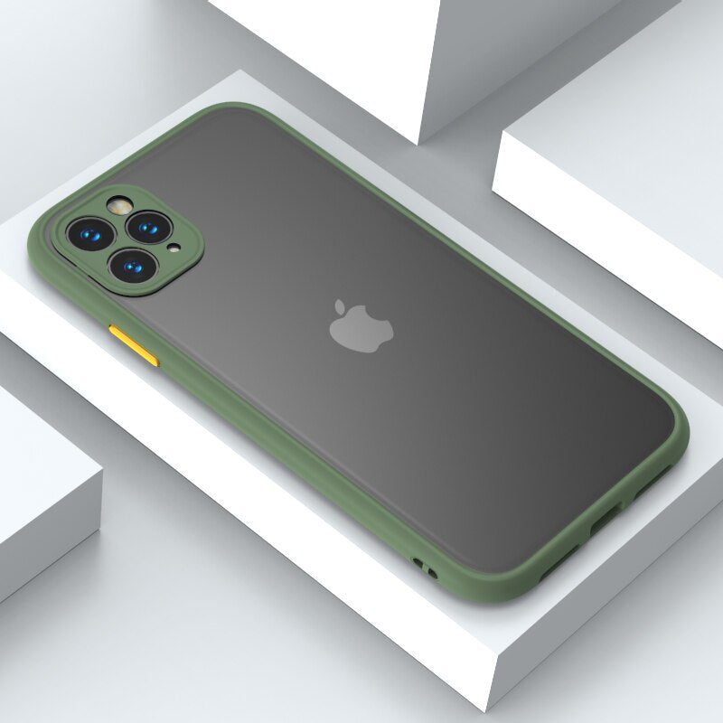 Camera Lens Protection Hard Case For iPhone