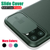 Camera Protection Shockproof Matte Case For iPhone
