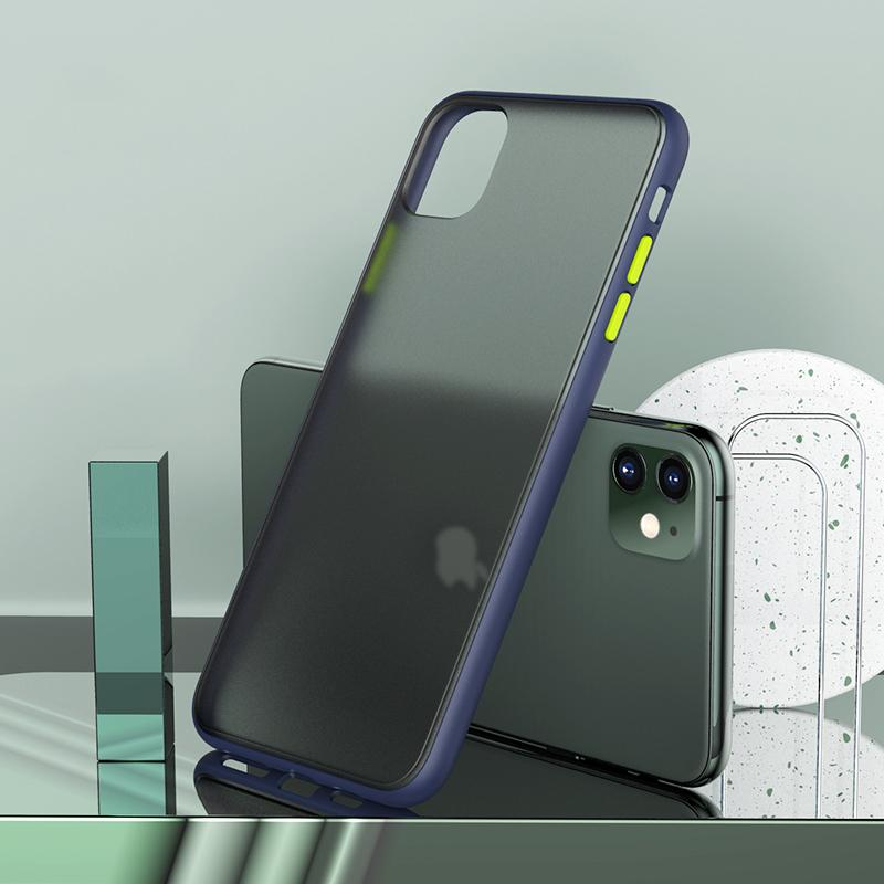 Luxury Matte Hard Case For iPhone 11/11 Pro/11 Pro Max/X XR XS Max