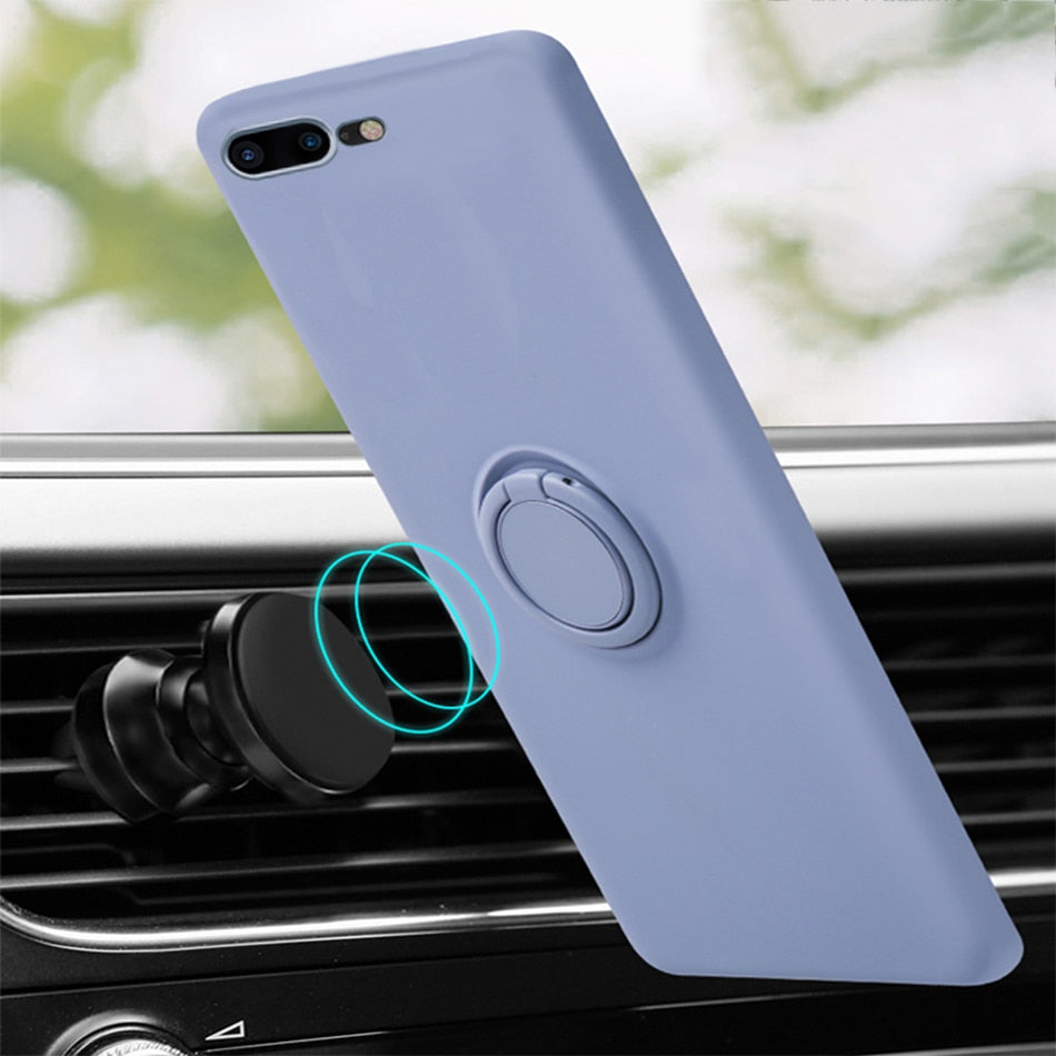 Liquid Silicone Original Holder Case for iPhone