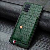 Aligator Card Slot Magnetic Case For Samsung
