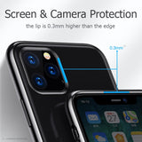 Luxury Laser Plating TPU Cover For iPhone