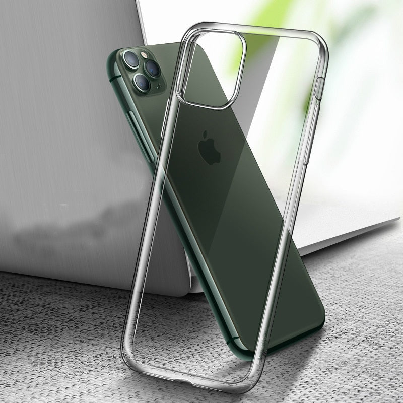 Luxury Plating Silica Soft Case For iPhone