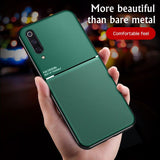 Luxury Silicone Magnetic Holder Case For Xiaomi