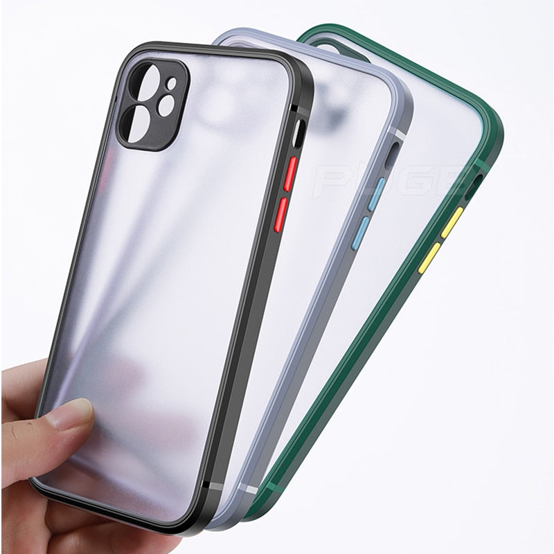New Luxury Square Bumper Case For iPhone