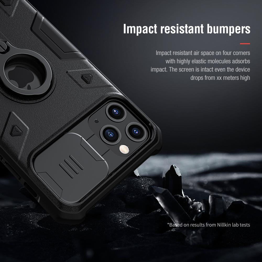 Luxury Shield Armor Kickstand Case For iPhone