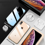 Ultra Thin Transparent TPU Silicone Case For iPhone