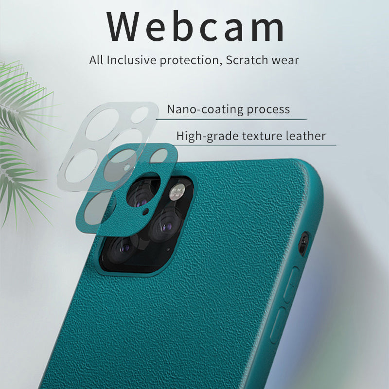 Luxury Original Leather Full Case for iPhone