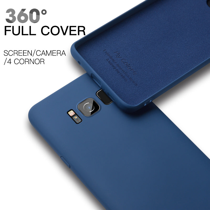 Original Liquid Silicone Case for Samsung