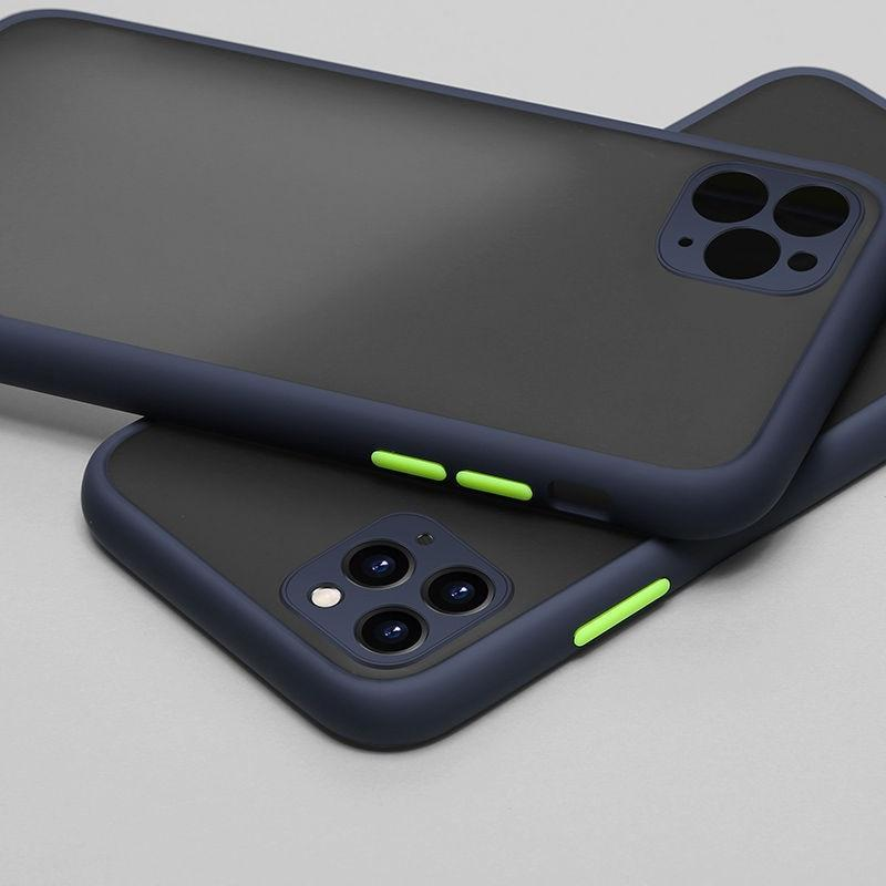 Luxury Camera Lens Protection Case For iPhone