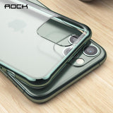 Luxury Transparent Matte Soft Case For iPhone