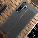 Leather Silicone Bumper Case For Huawei P30