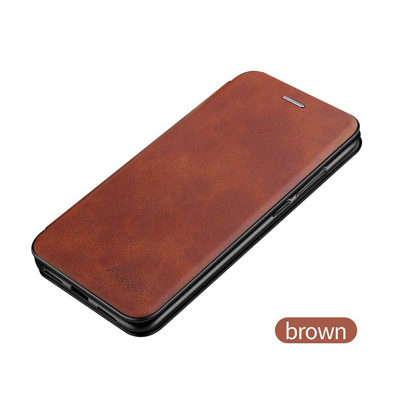 Luxury Leather Flip Wallet Case For Samsung