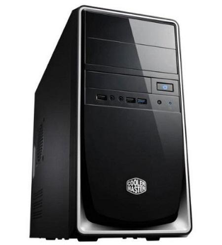 ELITE 344 MATX CASE SILVER + 420W PSU - Advanced PC and Simulations