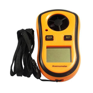 GM8908 Digital Anemometer - Advanced PC and Simulations